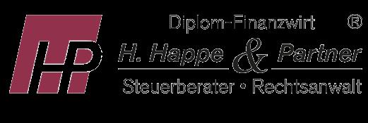 Logo: H. Happe & Partner, Steuerberater, Rechtsanwalt